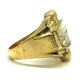 The Last Supper gold Ring