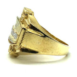 gold Last Supper Ring