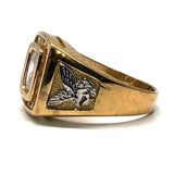 buy gold eagle ring
