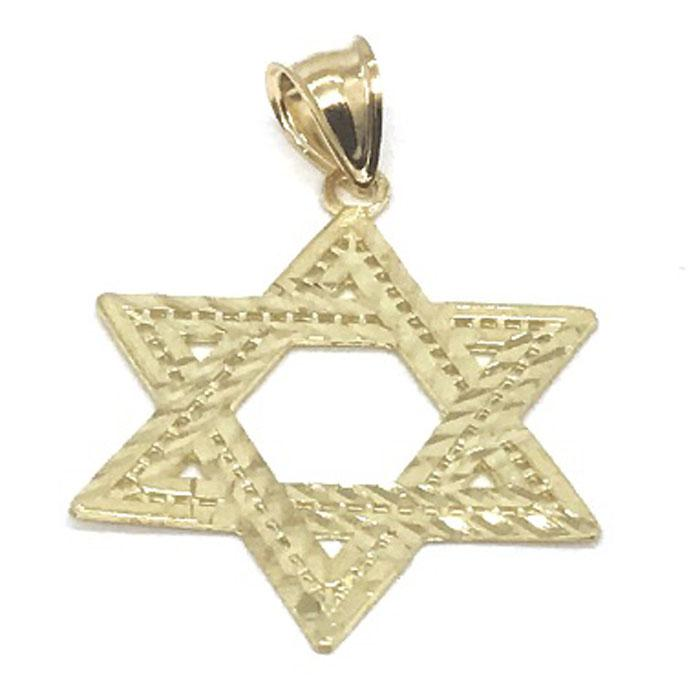 10K Yellow Gold Star SOD_004 - WORLDSTARBLING
