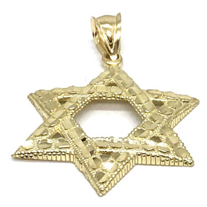 10K Yellow Gold Star SOD_006 - WORLDSTARBLING