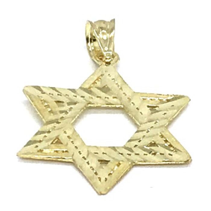 10K Yellow Gold Star SOD_008 - WORLDSTARBLING