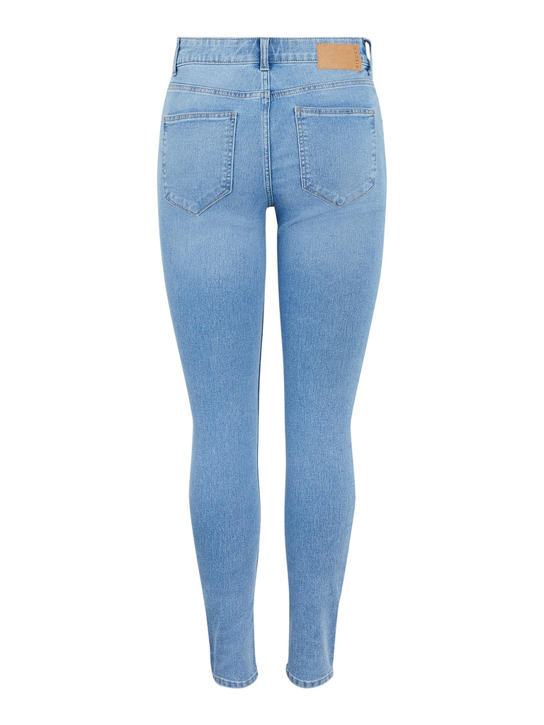 PCPEGGY MID WAIST SKINNY FIT JEANS