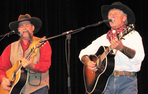 Tj Casey (Left) and Jim Reader (right) of Western Entertainers