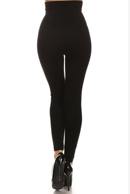 Leggings - High Waist Tummy Compression Legging Various Colors