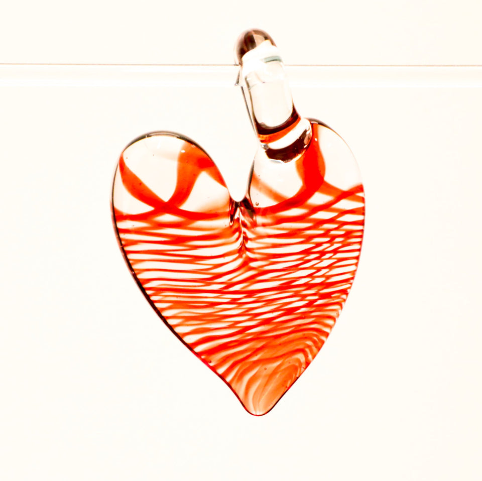 JOP Red Swirl Heart back