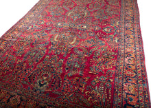 Persian Painted Sarouk Rug - 8' x 10'4