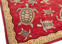 BK2004 - South Persian Turtle Rug - 5'1 x 7'4