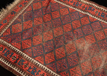 Vintage Small Baluch Rug - 3' x 5'6