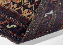 Antique Baluch Balisht - 1'7 x 3'5