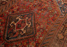 Antique S Persian Qashqa'i Rug - 5'4 x 9'