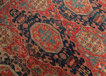 Antique Caucasian Soumak Rug - 7'5 x 9'1