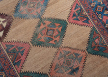 Antique Serab Rug - 4' x 7'3