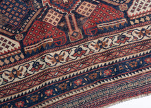 Antique Afshar Rug - 4'3 x 5'10