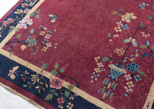 Chinese Art Deco Rug - 6'1 x 8'11