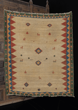 Vintage South Persian Gabbeh Rug - 5'3 x 6'2