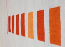 "Andrew Boos ""Orange and Grey Rug"""