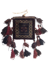 BK874- Baluch Chanteh with Tassels - 1' x 1'3