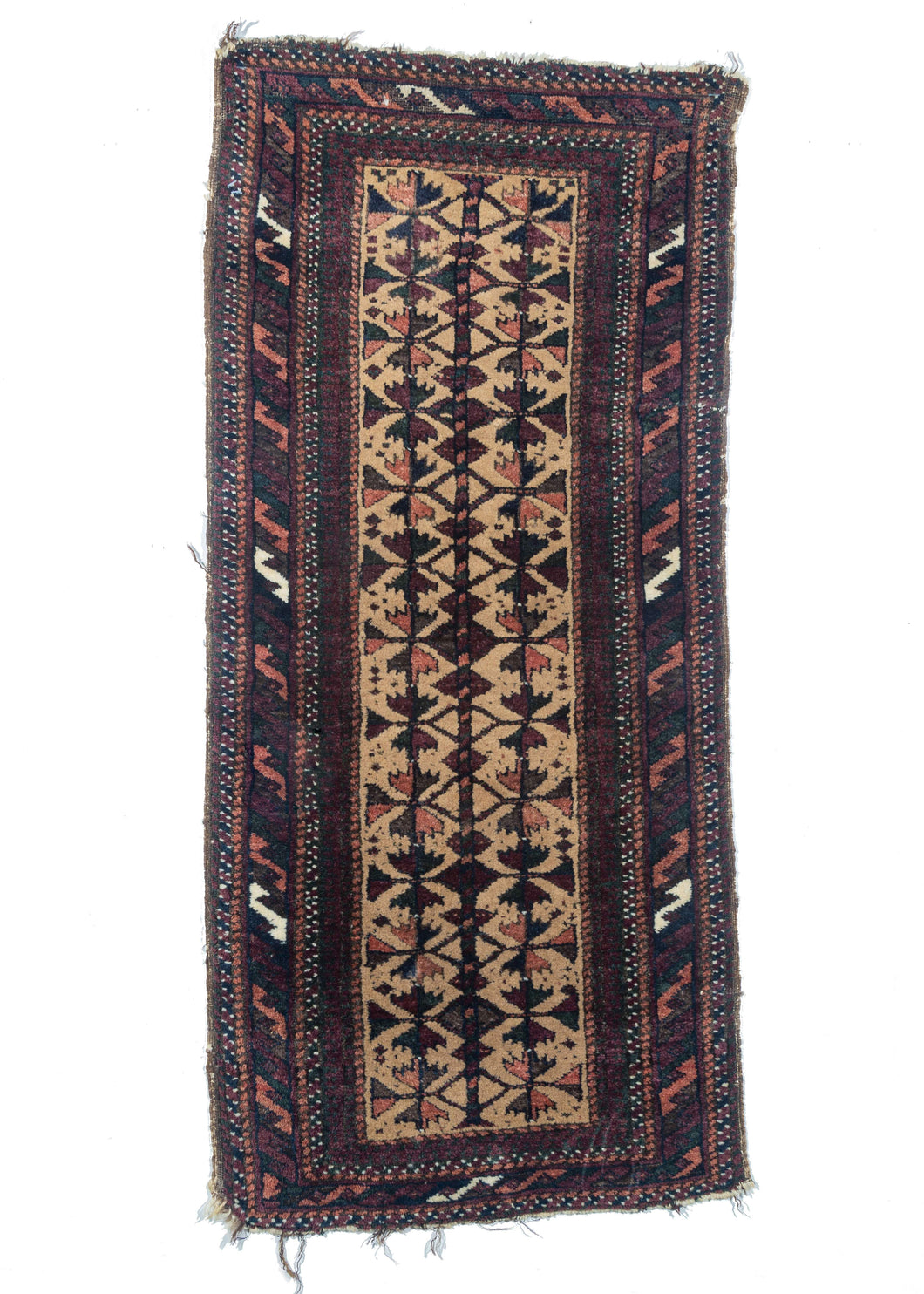 Antique Baluch Balisht Pillow Cover Handwoven rug