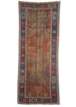 Antique Caucasian Akstafa Runner