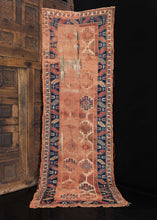 Handwoven Shahsavan rug handwoven during the mid-1800s in NW Iran.