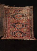 Antique Caucasian Soumak Rug from Azerbaijan
