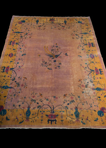 Antique Deco Rug - 8'10 x 11'6