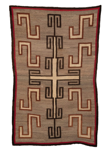 Antique Navajo Rug - 3'4 x 5'3