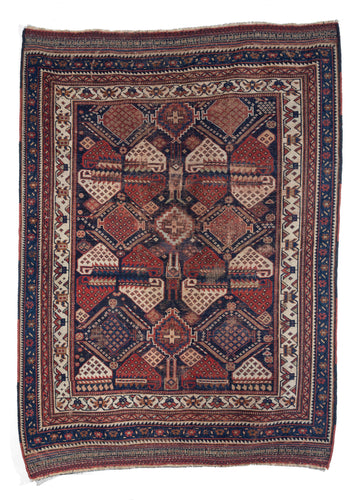 Antique Persian Afshar Area Rug