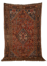 Antique South Persian Qashqa'i Rug