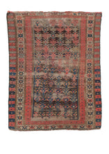 Antique Kuba Rug - 2'11 x 3'7