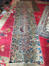 Persian Mahal Fragment Runner -2'8 x 9'7