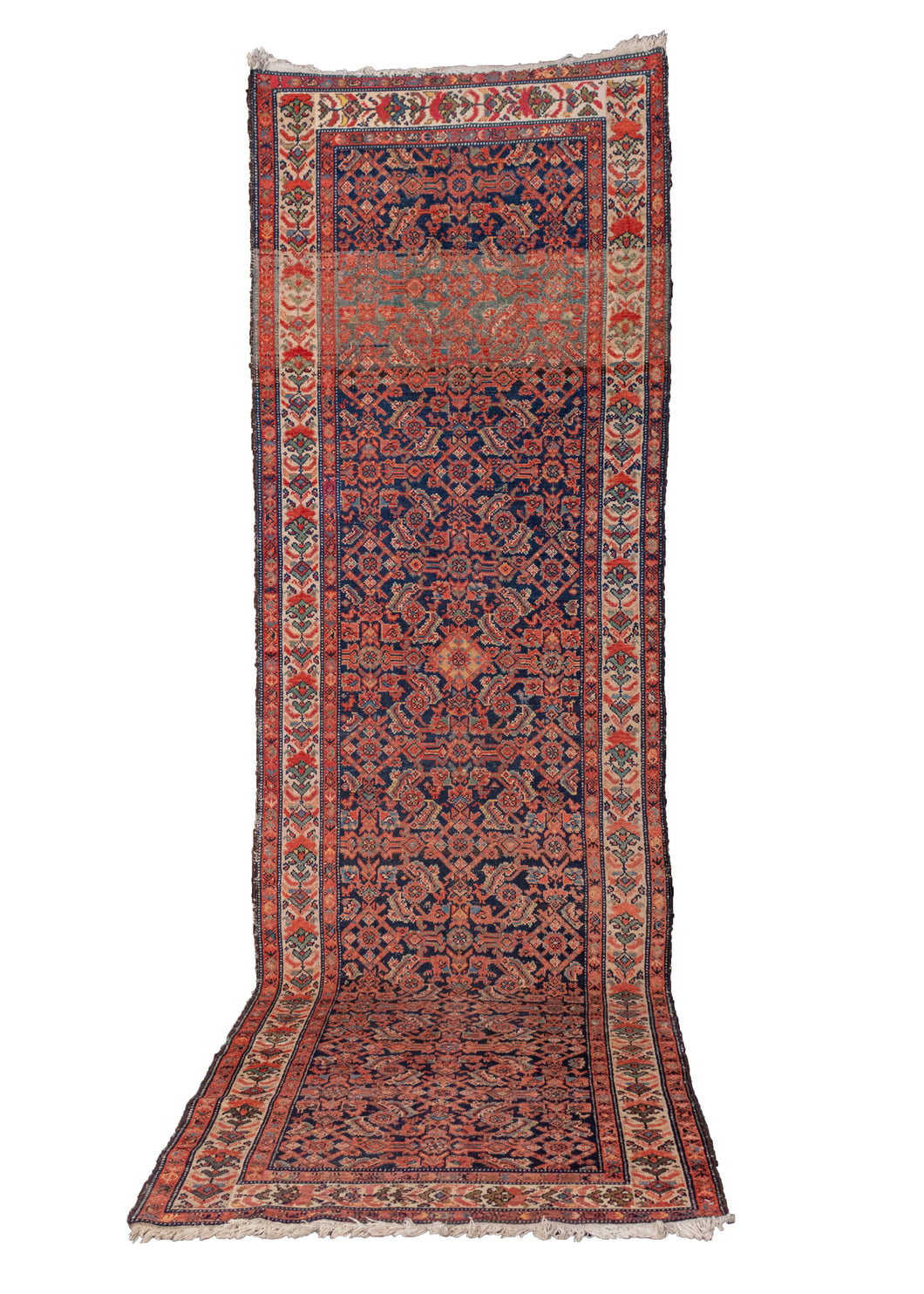 1940s Iranian Malayer Runner - 3'4 x 11'