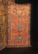 Antique Kazak - 4'1 x 7'3