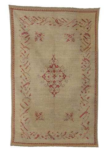 Central Anatolian Rug with cochineal dye