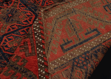 Antique Timuri Baluch Rug - 3'10 x 6'