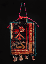 Vintage Armenian Salt Bag - 1' x 1'6