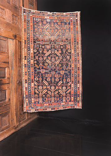 Antique Bidjar - 3'9 x 5'10