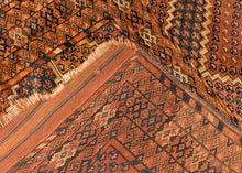 Antique Turkmen - 4'5 x 8'