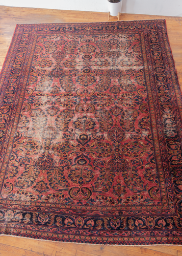 Large Antique Lilihan Rug - 10'6 x 13'6