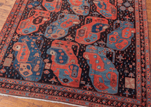 1980s Azeri Rug with Natural Dyes - 10' x 13'8