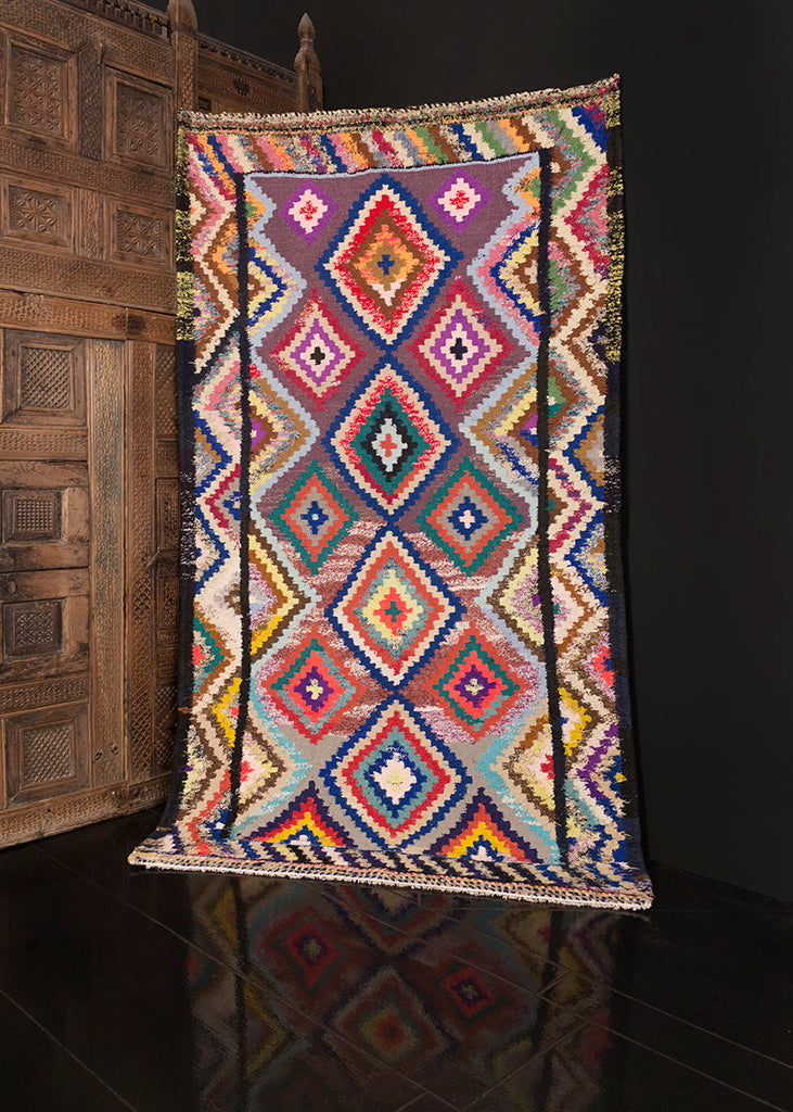 Contemporary Persian Kilim - 4'6 x 8'