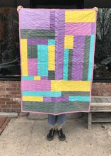 "Summer in the City Quilt - 33"" x 45"""