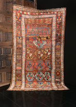 Antique Kurdish - 4'10 x 8'