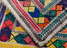 "Vintage Hazara Prayer Cloth - 12"" x 12"""