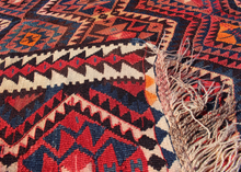Mid Century Turkish Kilim - 5'2 x 7'5