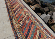Antique Gendje Runner - 3' x 11'5