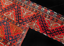 Antique Yomut Turkmen Horse Trapping - 4'5 x 4'8