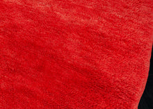 Red Moroccan Beni Ourain - 7'5 x 10'