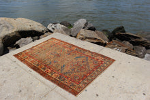 Antique Kurdish - 3'8 x 6'